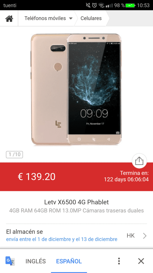 Leeco x6500 screenshot_20171128-105357-png.317810
