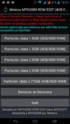 Meteos MTK6589 ROM EDIT, redimensiona fácilmente /data (apps) [Com. 4GB/8GB/16GB ROM]