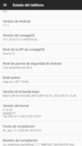 Rom Elephone M2 LineageOS14.1 based on Android 7.1.1 Nougat by duffi200000