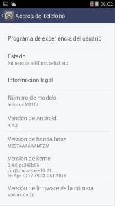 Infocus m810t 4.2.2 con root. (needrom)
