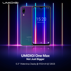 Leaked: UMIDIGI One Max New Video Confirms Waterdrop FullScreen