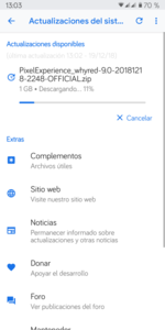 Pixel Experience PIE CAF(Android 9 0) para Xiaomi RMN5