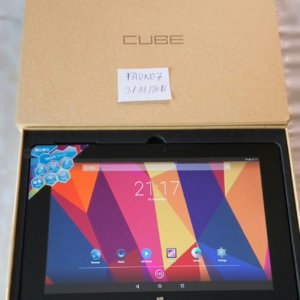 "TABLET CUBE IWORK 10 ULTIMATE 64GB INTEL ATOM x5 Z8350 QUAD CORE 10.1"", DUAL OS NUEVO"